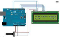Czujnik ciśnienia 0-12bar na Arduino