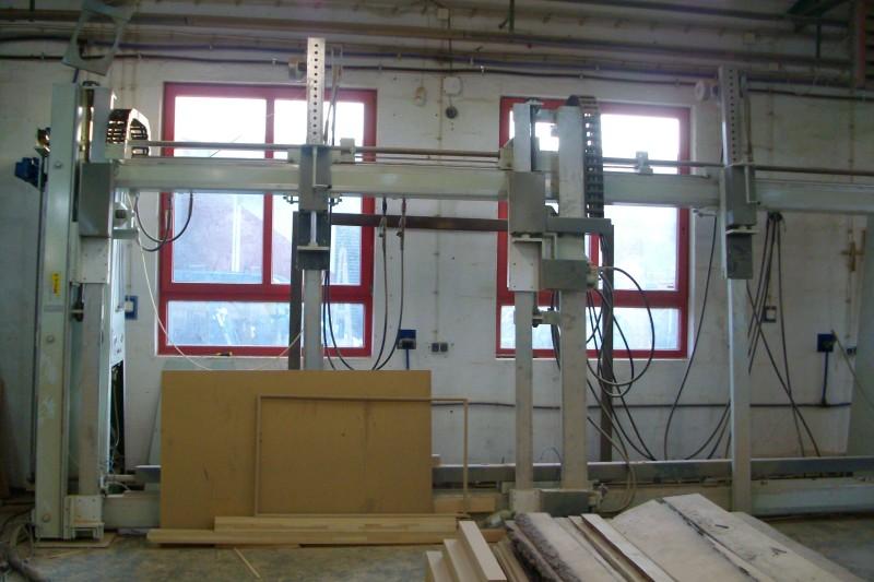 Pod��czenie prasy do ram okiennych (silniki 3fazowe)