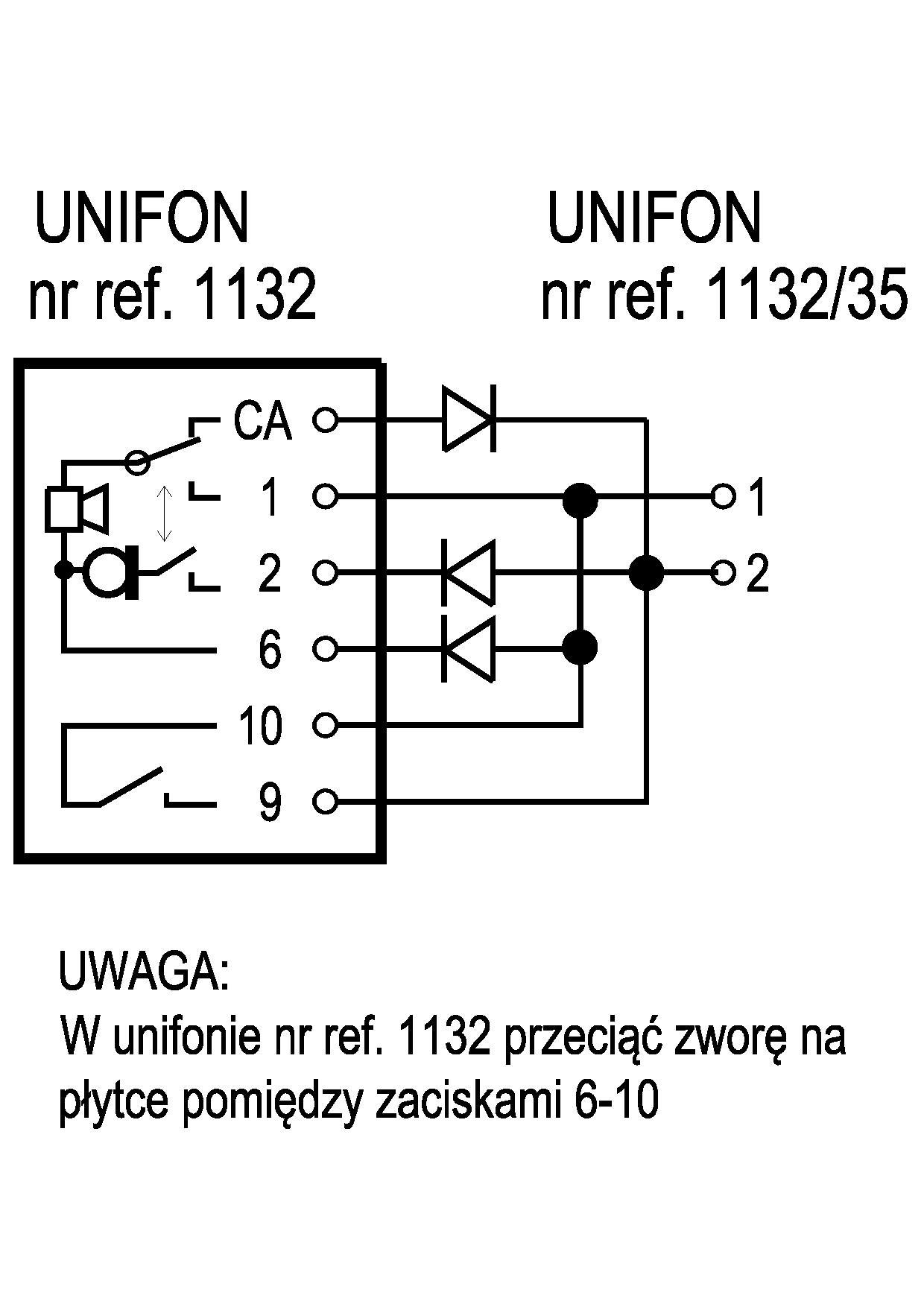 Zrównoleglenie Dwóch Unifonów Urmet Atlantico 1133