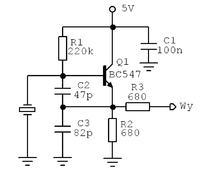 Symulacja układu - zastąpienie kwarcu