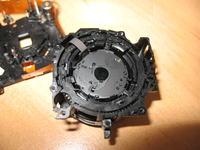 Samsung PL50 - Jak odłączyć dwie taśmy obiektyw - płyta.