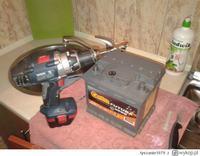 akumulator - Szukam nowego akumulatota tylko obsługowego z koreczkami.