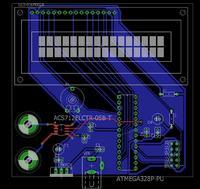 Podłączenie czujnika prądu stałego AVR