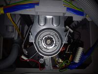 Mastercook PTE-1036P - Pralka po upadku - silnik kręci bardzo wolno