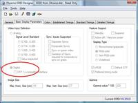 Monitor LG M2280DF potrzebna kopia EDID