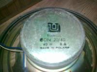 Renowacja kolumn - Unitra Tonsil