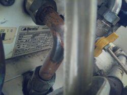 Kocioł gazowy dwufunkcyjny Beretta - buczy, wpada w drgania