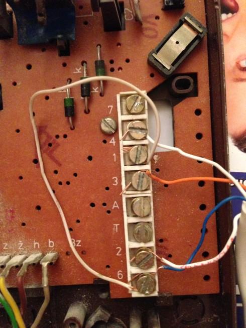 PROEL PA456 - Wymiana Tesla 4FP 11037.31 na Proel PA456 - instalacja 4-żyłowa