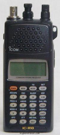 Icom R-10, R10 Instrukcja EN