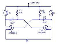 Multiwibrator 24V do auta ci�arowego