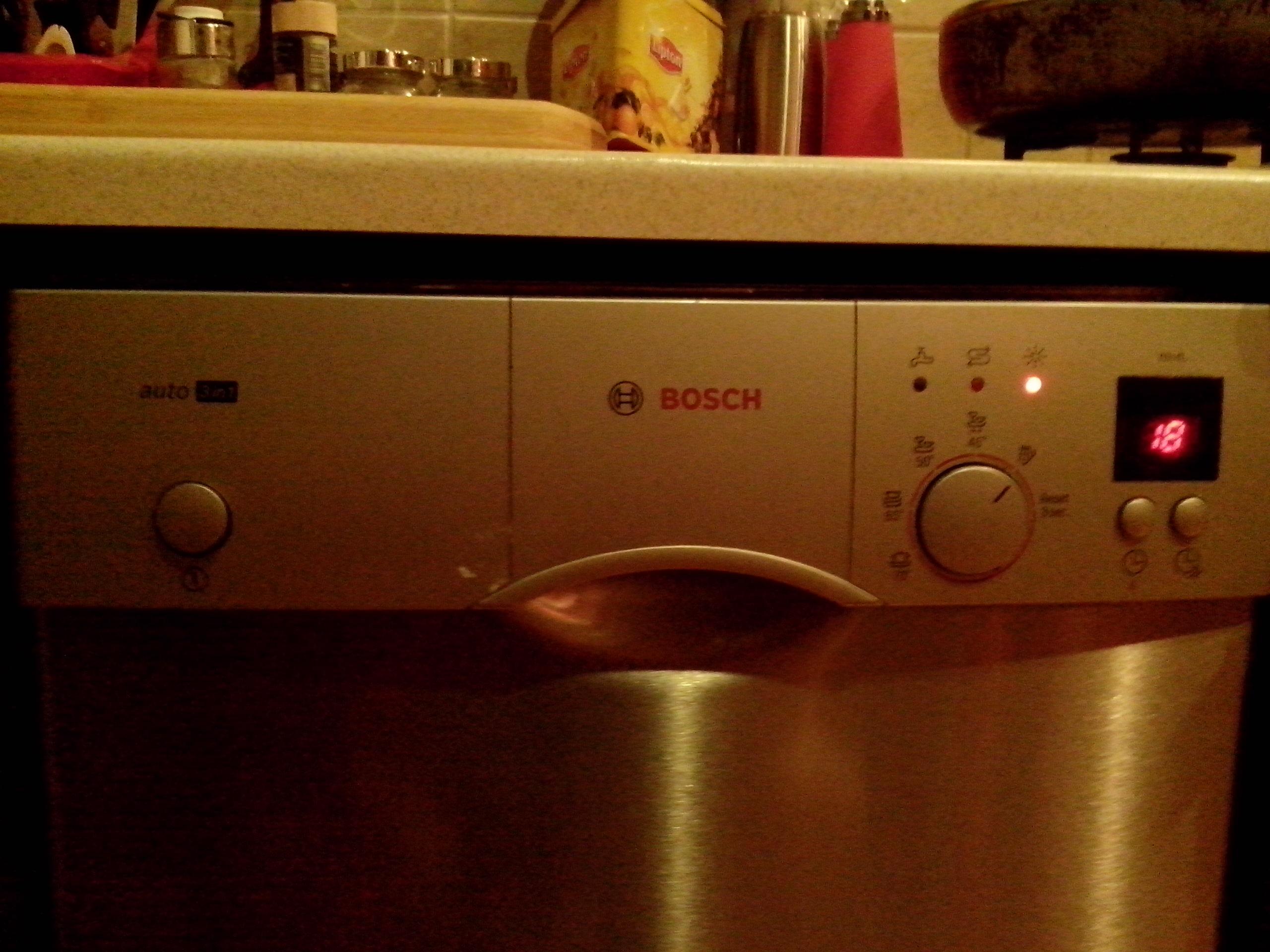 Zmywarka Bosch 3in1 - zmywarka nie pobiera wody