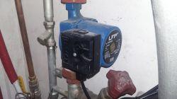 Sterownik pompy obiegowej wody - podłogówka - piec gazowy