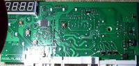 Amica PC5580B425 - rezystora SMD przy triaku od zaworu przesterowania