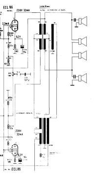 Telefunken Concerto 2284 dziwny schemat