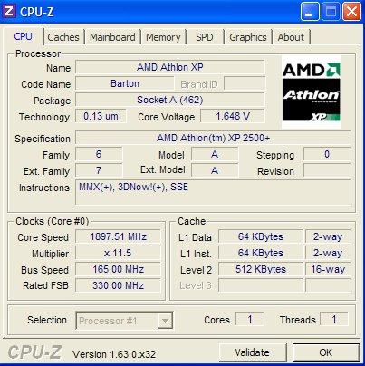 Athlon XP 2600+,MOBO K7S41GX - Zawieszania si� PC, Uszkadzanie dysku