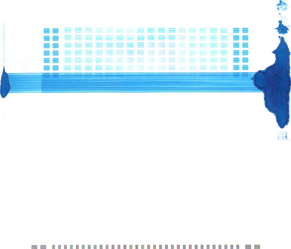 Lexmark Interpret S409 rozlewa si� niebieski tusz.