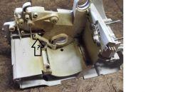 Stihl MS 180 - Przewód olejowy.