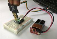 HackaBLE - niewielka płytka prototypowa z nRF52832 i Bluetooth LE