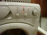Pralka Ariston AVSL85EU - nie włącza się, jaki kod błędu?