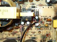 Chieftec model: HPC-420-302 DF ; REV: ATX 2.0 - naprawa
