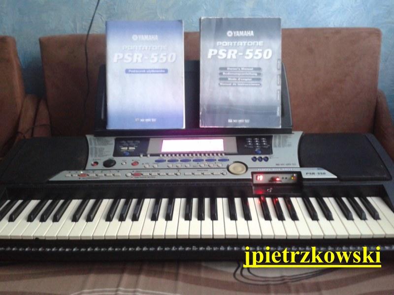 [Sprzedam] Sprzedam Yamaha PSR 550 z Emulatorem USB.
