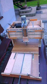 Frezarka CNC z płyty OSB do obróbki miękkich materiałów