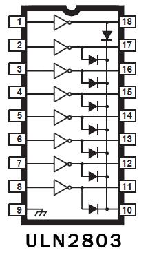 Sterowanie diodami LED (PWM) - sprawdzenie schematu