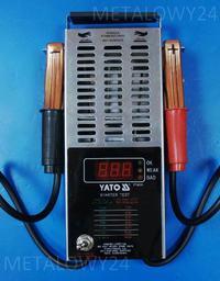 TESTER Akumulatorów CYFROWY YATO 8311