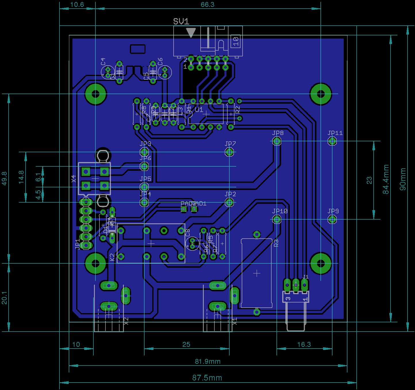 Rozwiązano] [EAGLE] Zasilacz-schemat i PCB do oceny.