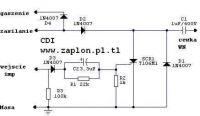 Skuter Chiński - Schemat porządnego modułu CDI