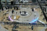 Pod�ogowe o�wietlenie LED, Genewa Motor Schow 2012.