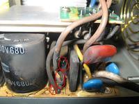Chieftec model: HPC-360-202 DF Naprawa spalonego zasilacza - wymiana warystorów
