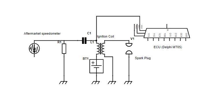 RPM Signal Conditioning Circuit to prevent aftermarket tachometer needle instability 5814973000_1576496012
