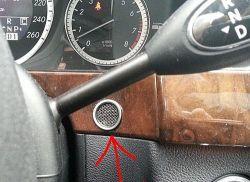 Mercedes W212 - Czujnik temperatury wewnętrznej gdzie?
