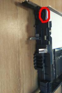 Konica Bizhub C360 - szuflada A4 nie gaśnie czujnik papieru