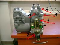 ursus c-330, filtry paliwa i odpowietrzanie