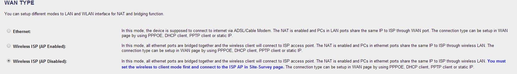 WRT-414 - Tryb AP Client nie dzia�a w po�aczeniu z Livebox'em.