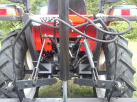 Kubota GL 220 - Montaż instalacji hydraulicznej z rozdzielaczem