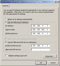 Windows server 2012 - Jak skonfigurować interfejsy sieciowe serwera i klienta