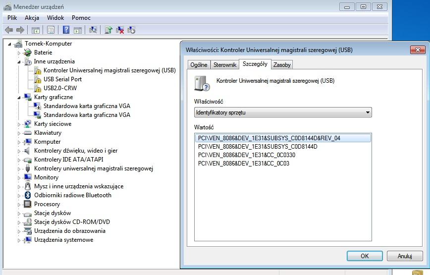 samsung np350e7c - brak wifi..