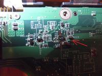 LGe510 - Nie w��cza sie po burzy widoczny przypalony element