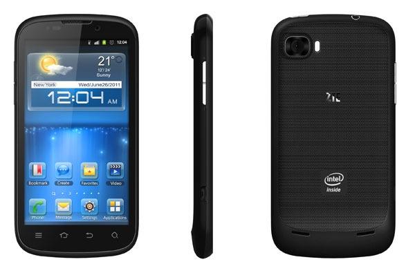 ZTE GRAND X IN - smartphone z Intel Atom Z2460 i Android 4.0