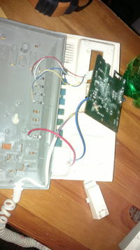 kocom, IP301PA, potrzebuję opisu kabli które były podłączone, chcę go wymienić.
