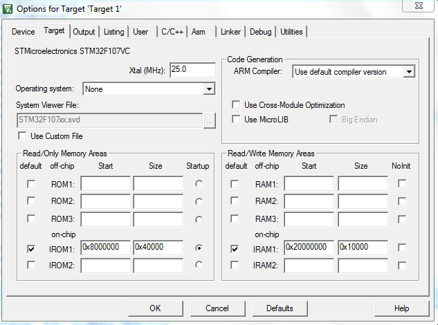 Emulated EEPROM stm32f cmsis library - Keil forum - Software Tools