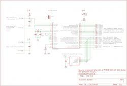 Zegar. Kalendarz. Stacja pogodowa. Wyświetlacz T6963 + Arduino + ESP8266