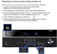 Amplituner Yamaha RX-V481 - Czerwony napis HMDI OUT na wyświetlaczu - brak video