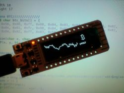 ESP8266 + OLED jako monitor kursu Bitcoin