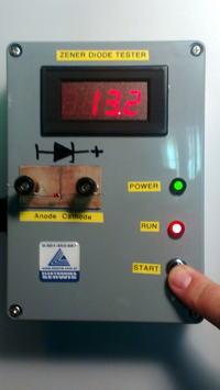 Tester diod Zenera ze źródłem prądowym LM334
