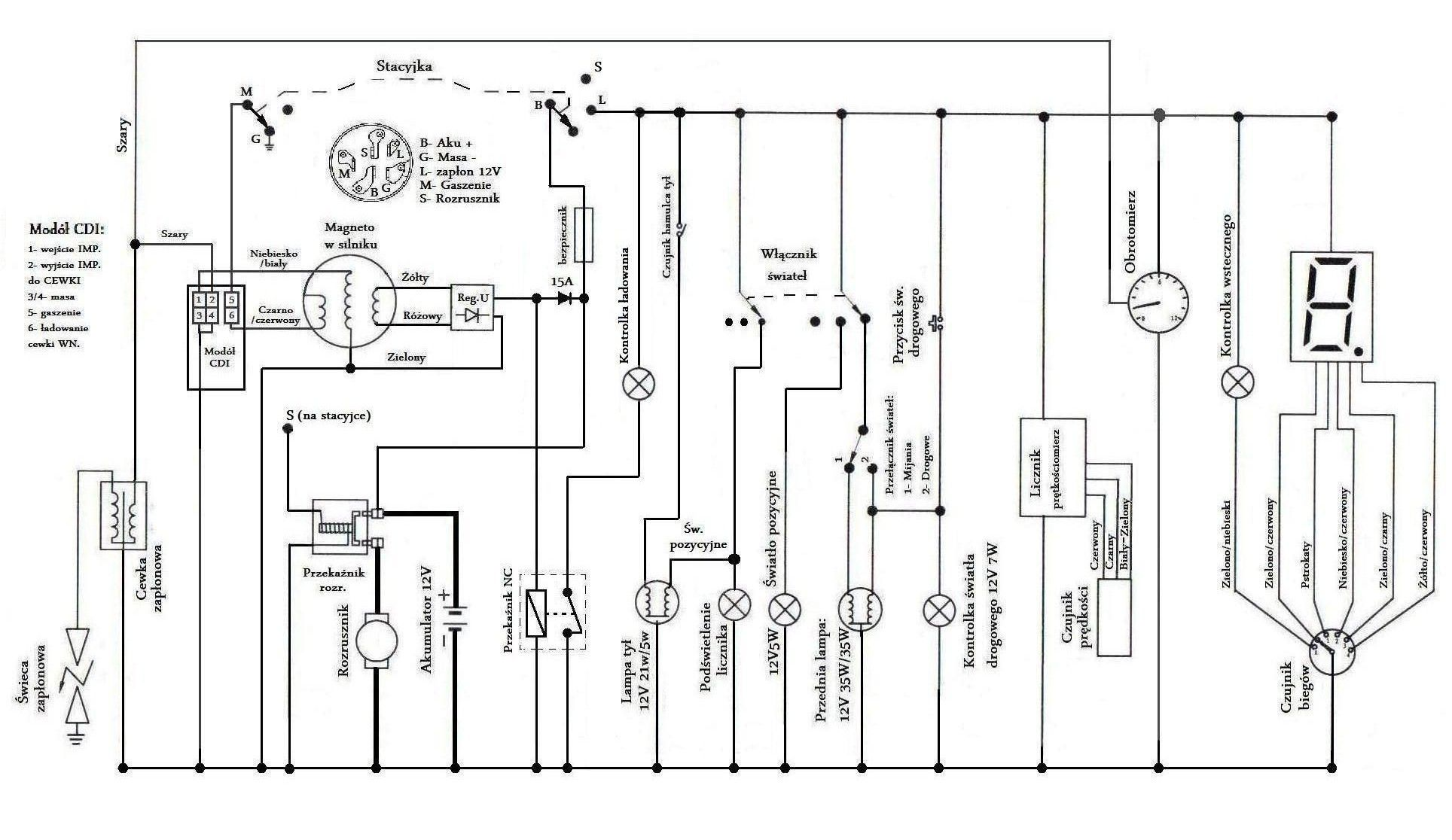 Bashan 250 Wiring Diagram on gy6 engine exploded diagram