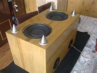 Subwoofer DIY głośnik Sony 1-825-146-12 (jaka obudowa)